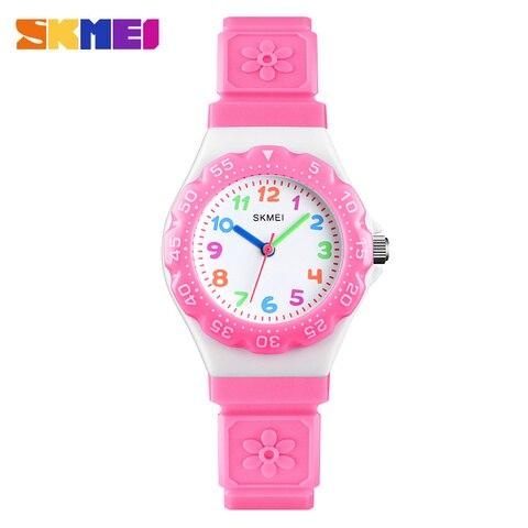 SKMEI NEW Kids Watches Outdoor Sports Wristwtatch Boys Girls Waterproof PU Wristband Quartz Children Watches 1483 reloj Lahore