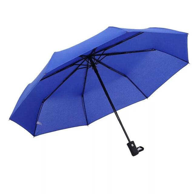 Kocotree дождь Для мужчин Бизнес автоматический зонт женский ветрозащитный Нержавеющаясталь зонты, дождь Для женщин складной зонт из летней коллекции