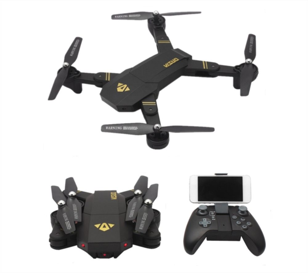 VISUO XS809HW wifi fpv With Wide Angle HD Camera Altitude Hold Foldable Selfie Drone RTF RC Helicopter Toys VS Eachine E58 пропеллеры eachine для e58 each 798063