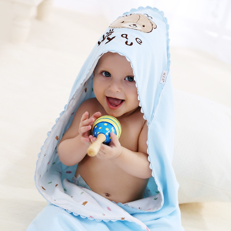 NUOBEIXIONG 2018 New Arrival Cute Cartoon 3 Colors 88*88cm Cotton 0-12 Months NewBorn Baby Warm Blanket For Kids Free Shipping aibeile 2017 new 3 colors bear elephant flannel baby blanket newborn soft cartoon blankets 100 100cm for beds thick warm kids