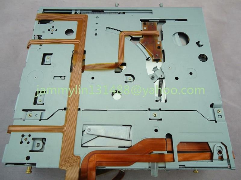 Fujitsu Ten 6 Disc Cd Changer Mechanism For Toyota Lexus Is200 Car Radio Tuner Receiver