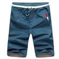 2016 Venta Superior Caliente Del Verano Para Hombre Pantalones Cortos Ocasionales Adelgazan Jóvenes Shorts Playa De Los Hombres Más El Tamaño M-3XL