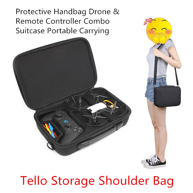 DJI TELLO Case Bag for TELLO Drone & Gamesir T1d Controller Gamepad Handle Holder Portable Handheld Carrying Case Bags