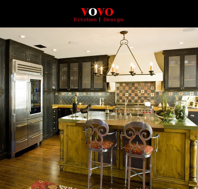 Us 599 0 Aliexpress Com Buy Cherry Solid Wood Kitchen Cabinets From Reliable Wood Kitchen Cabinets Suppliers On Vovokitchen L Design Store