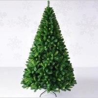 2.1 메터/2.4 메터 암호화 믹스 뾰족한 잎 자동으로 크리스마스 트리 크리스마스 쇼핑몰 홈 장식 에센