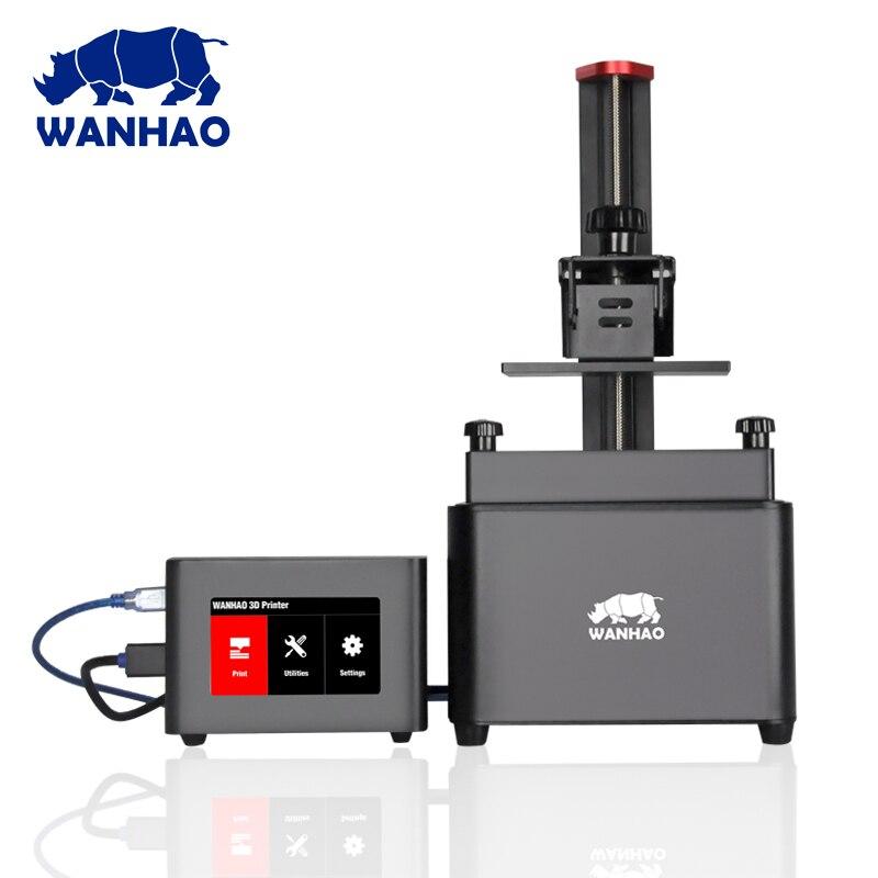 WANHAO D7 Nano BOÎTE avec charge USB et écran tactile, tous de marque DLP/SLA 3D contrôleur d'imprimante