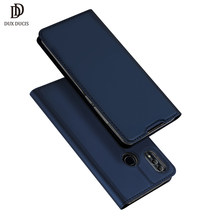 For huawei honor 20 dux ducis flip leather book case on honor 20 coque wallet cover for huawei honor 20 pro 10 lite 10i(China)