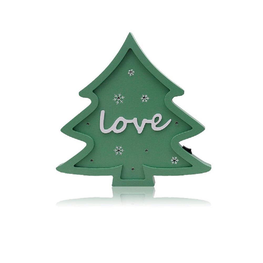 Julgran modellering ljus jul dekoration ljus som gåva hem baby rum - Festlig belysning - Foto 2