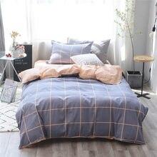 ba5843c905 Home Textile 3 pcs Conjuntos de Cama Edredon Cobrir Folha de Cama Fronha  100% algodão
