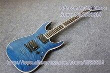 Лидер продаж синий тигр зерна отделка Suneye MH-1000 электрогитары в синий цвет левша на заказ доступны