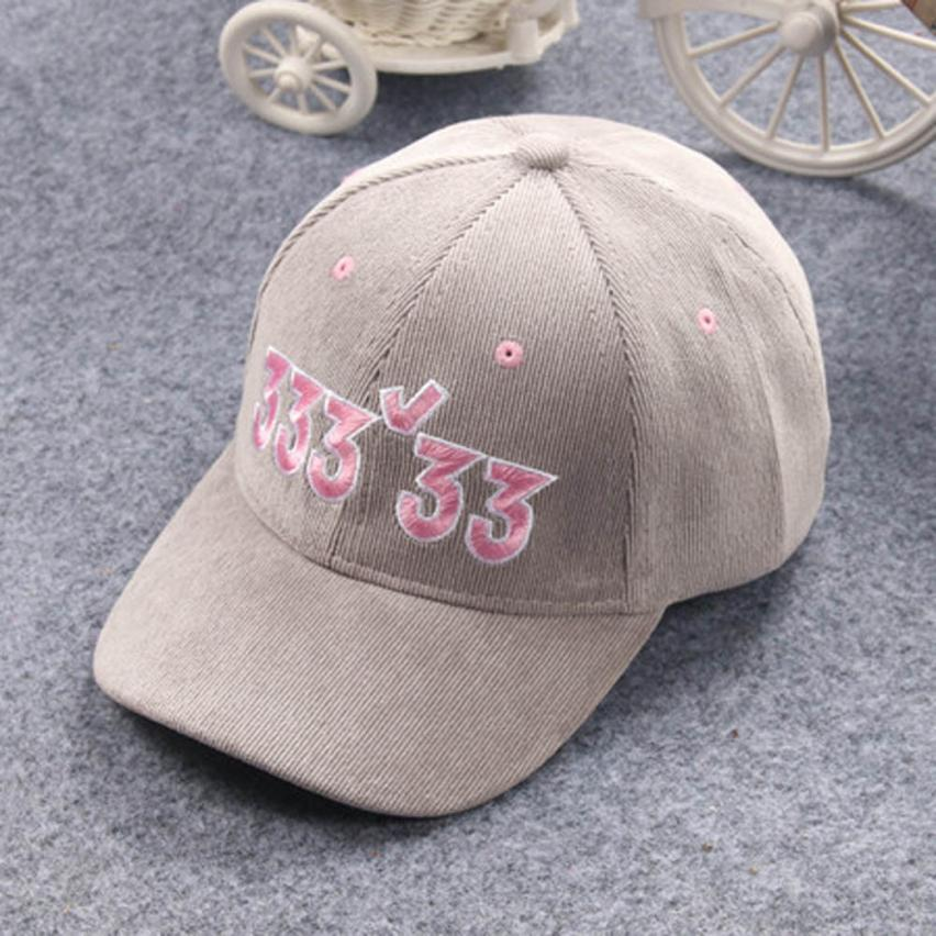 Baby Hat Baby Cap Baby 2018 Embroidery Baby Beanie For Boys Girls Digital Hat Children Hats