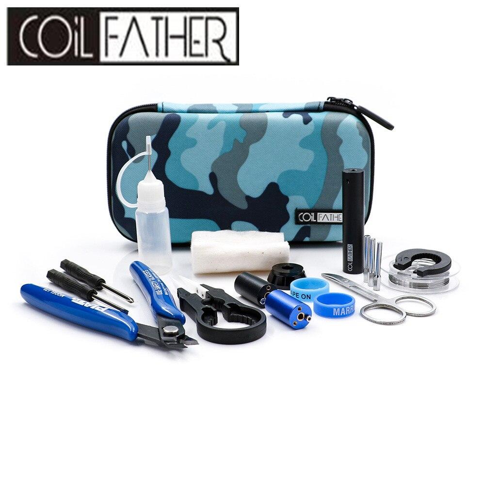 Bobina di Padre X6s Maestro Tool Kit V3 12 Diversi Utile Vape Tool Kit/VS Sigaretta Elettronica Kit FAI DA TE 2 colori Disponibili