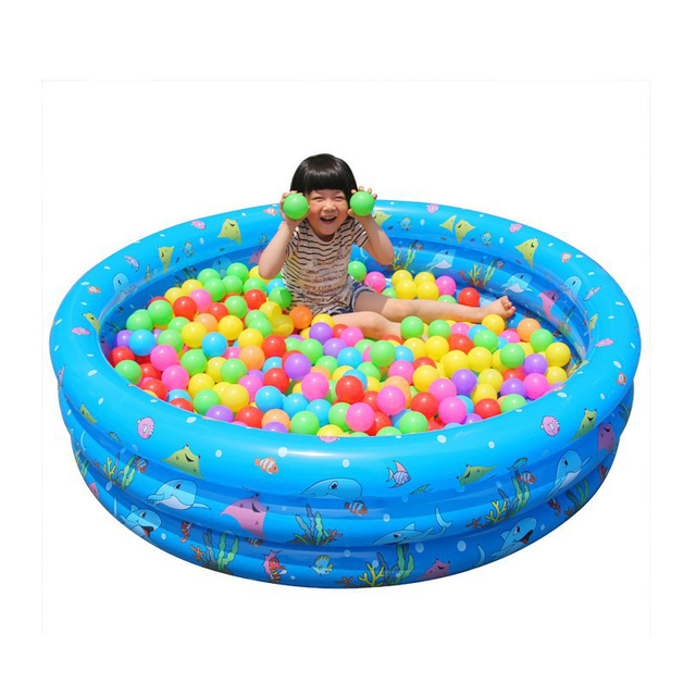 Childrens Home Use Three Layers Inflatable Round Swimming Pool Ocean Ball Kids Paddling Safety