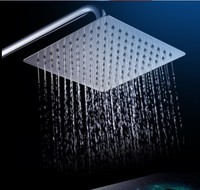 Square Water Saving Rain Shower Head Contemporary 8 Inch ,Grohe Chuveiro Ducha Quadrado