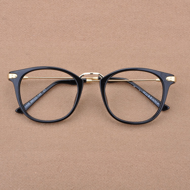 0237afa326d Brand Eyeglasses Frames Women Eyewear Frame Clear Lens Computer Glasses  Optical Glasses oculos de grau Alloy