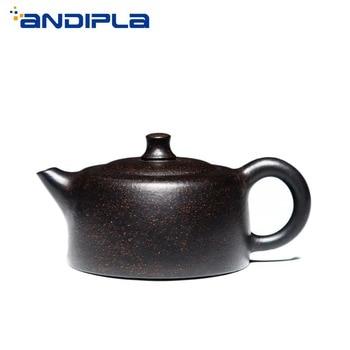 235cc Authentic Yixing Teapot Tianji Pot China Health Purple Clay Vintage Kung Fu Tea Set Brew Tea Pot Teaware Tea Maker Kettle