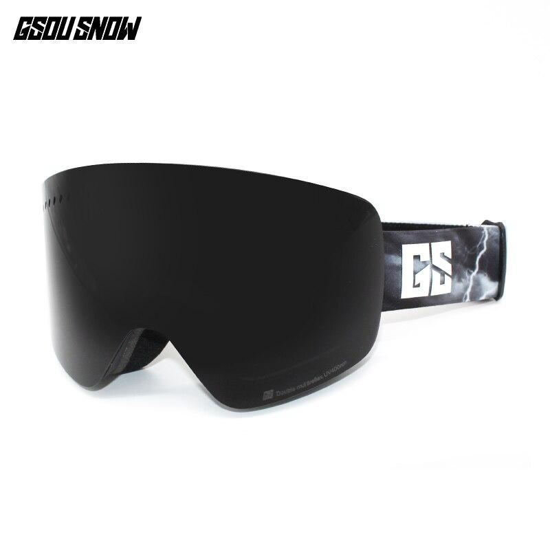 GS sport d'hiver ski lunettes de neige lunettes de ski snowboard lunettes motoneige ski et snowboard ski accessoires