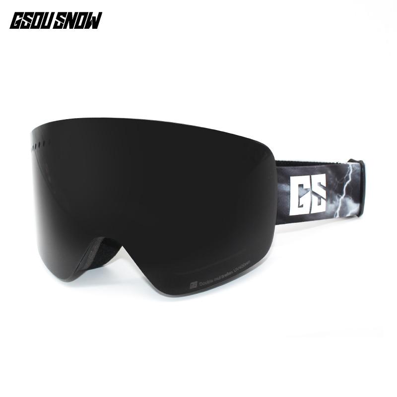 GS wintersport lunettes de ski lunettes de ski neige lunettes de snowboard motoneige ski et snowboard accessoires de ski