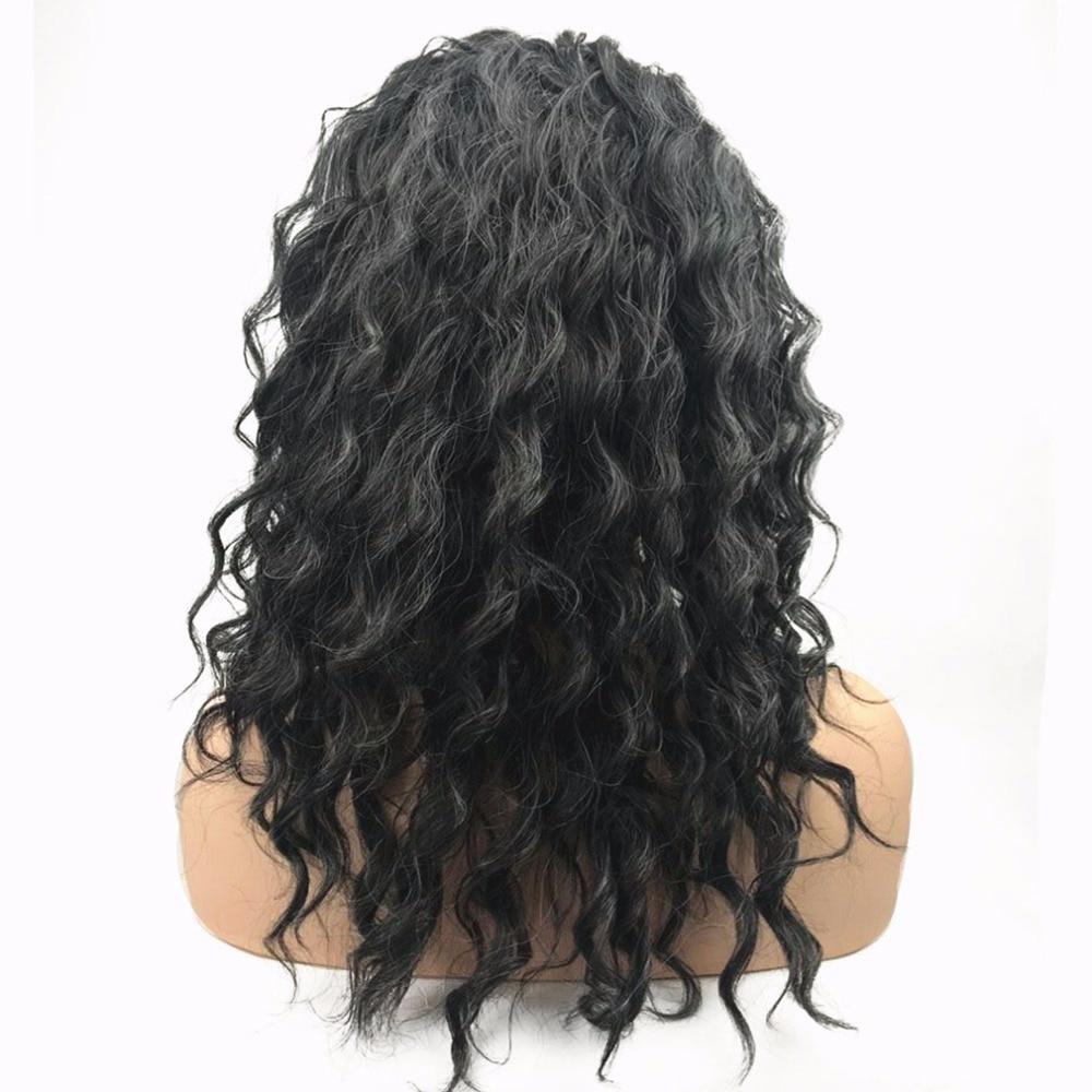 StrongBeauty Women's Parycken Auburn Mix Bob Short Straight Hair - Syntetiskt hår - Foto 3