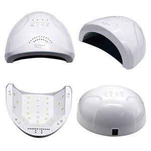 Image 3 - 48W UV Lamp Nail Polish Dryer 28 LEDs Light 5S 30S 60S Drying Fingernail&Toenail Gel Curing Nail Art Dryer Manicure for Sunone