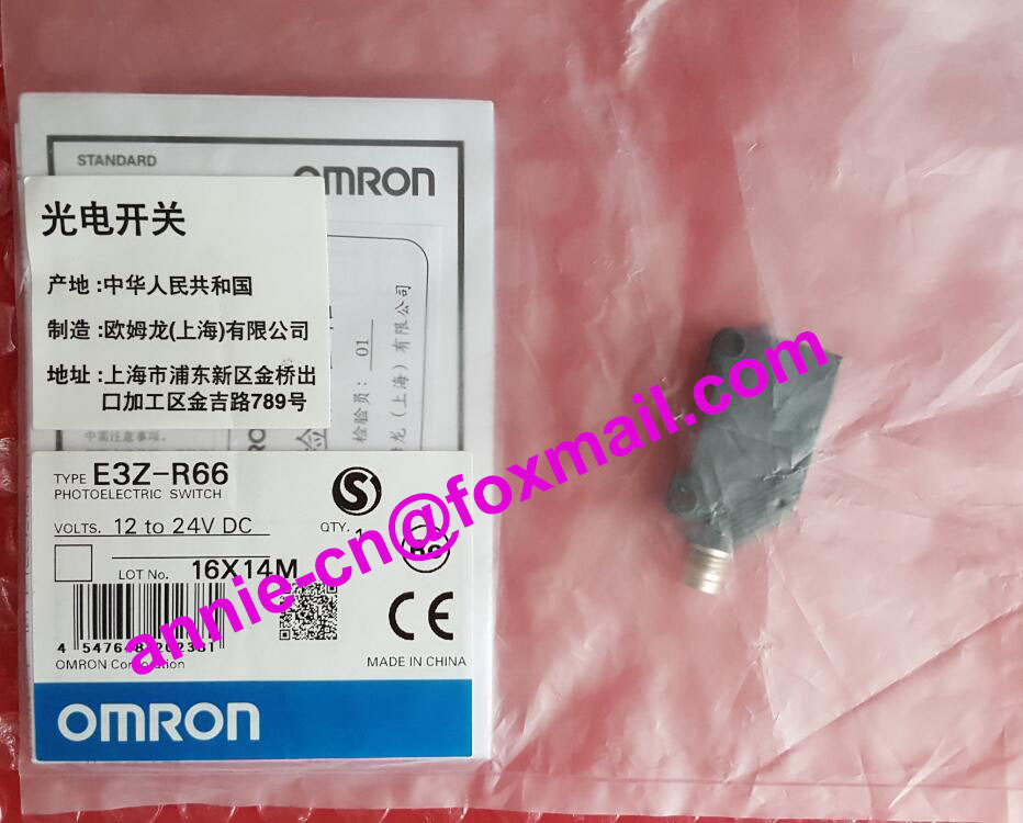New and original  E3Z-R66  OMRON Photoelectric switch [zob] supply of new original omron omron limit switch ze qa2 2 factory outlets 2pcs lot