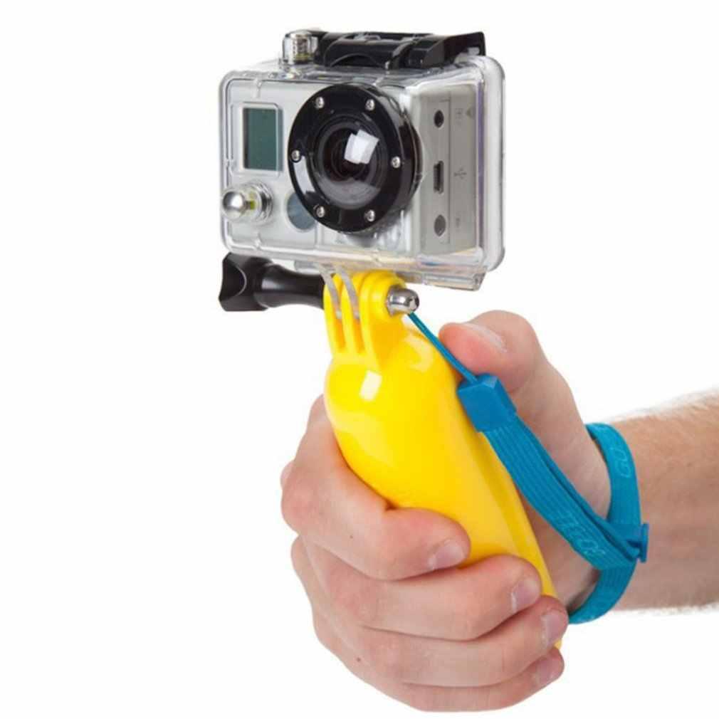 Para Gopro accesorios Bobber flotador ligero palo de mano trípode accesorios para Go Pro Hero 7 6 5 4 para Yi 4K GP81