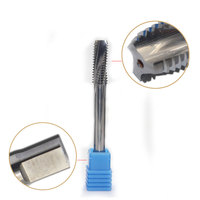 1PC M12 Tap Solid Carbide Spiral Flute Metric Machine Screw Right Taps Pitch 1mm 1.25mm 1.5mm 1.75mm Thread Cutter Tool