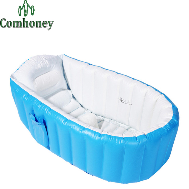 Baby Inflatable Swimming Pool for Newborn Toddlers Infant Baby Bath Tub Swimming Pool for Kids Bathing Shower Tub for Children