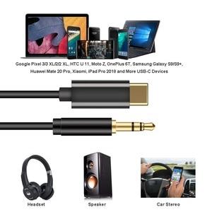 Image 5 - ประเภท C ถึง 3.5 มม. ชาย AUX สายเคเบิลเสียงดิจิตอล DAC 32 บิต/384 KHZ สำหรับหูฟังชุดหูฟังลำโพง Google 2/2XL/3/3 XL Mate 20