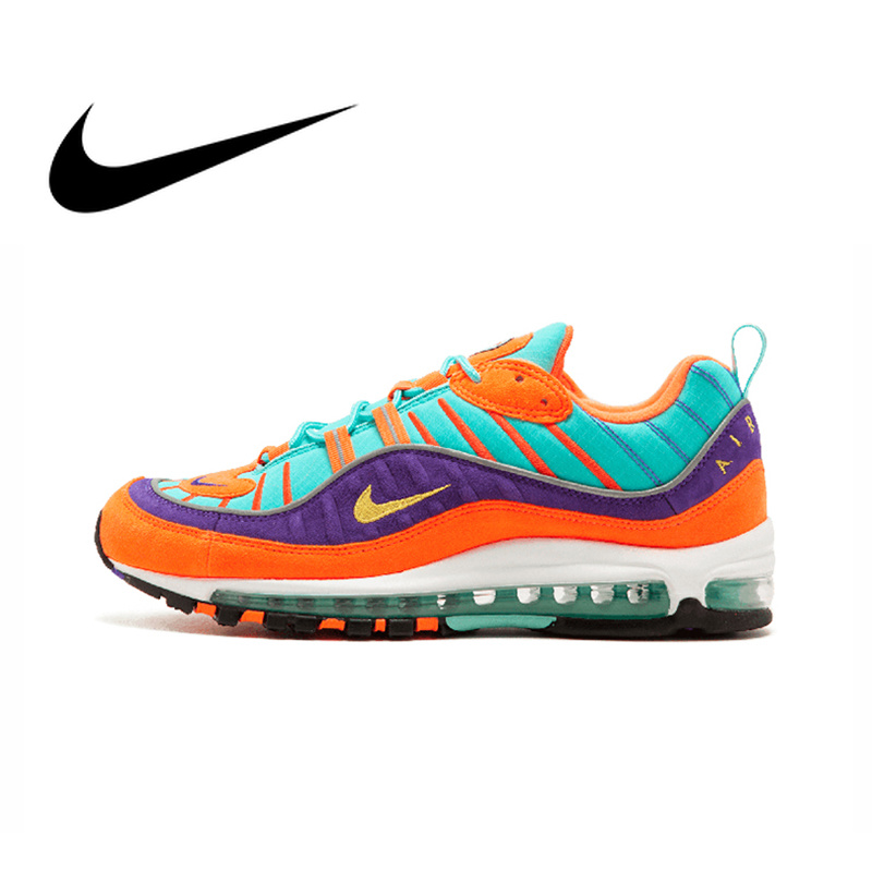 1f1da1da877 Nike Air Max 98 QS CONE Men s Breathable Running Shoes Sport Sneakers Top  Quality Athletic Designer Footwear 2018 New 924462 800-in Running Shoes  from ...