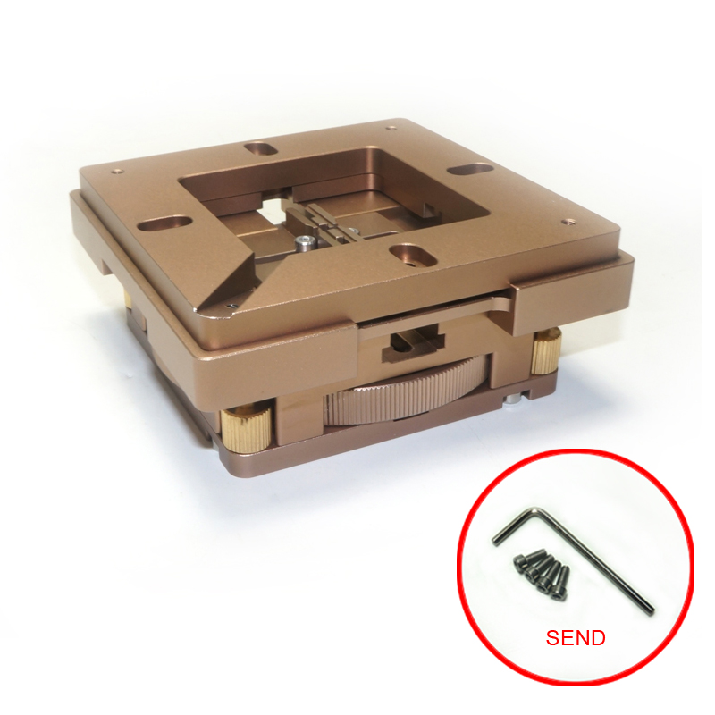 все цены на 80mm/ 90mm BGA Reballing Station with magnet auto adjustment easy to operate BGA parts support retangle chips онлайн
