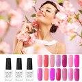 8ml Pink Color Coat Bling UV Gel Nail Polish Natural Resign Soak Off Gel Semi Permanent Nail Art Professional Polish