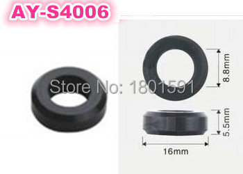 200pieces wholesale fuel injector rubber seals auto parts replacement viton o rings for japan cars(AY S4006)
