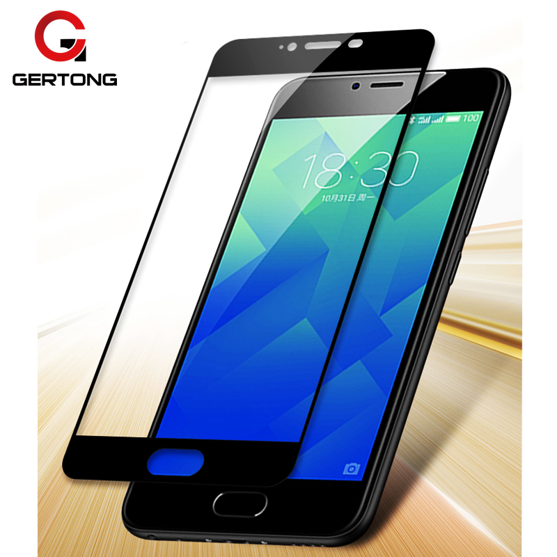 GerTong Full Cover Tempered Glass For Meizu M5 M6 Note M5S M3 U10 M5C M3S Mini Pro 6 7 U20 MX6 Screen Protector Ultra-thin Film