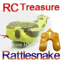 font b RC b font Rattlesnake Remote Control Rattlesnake children toy AAA 9V Batteried Operated