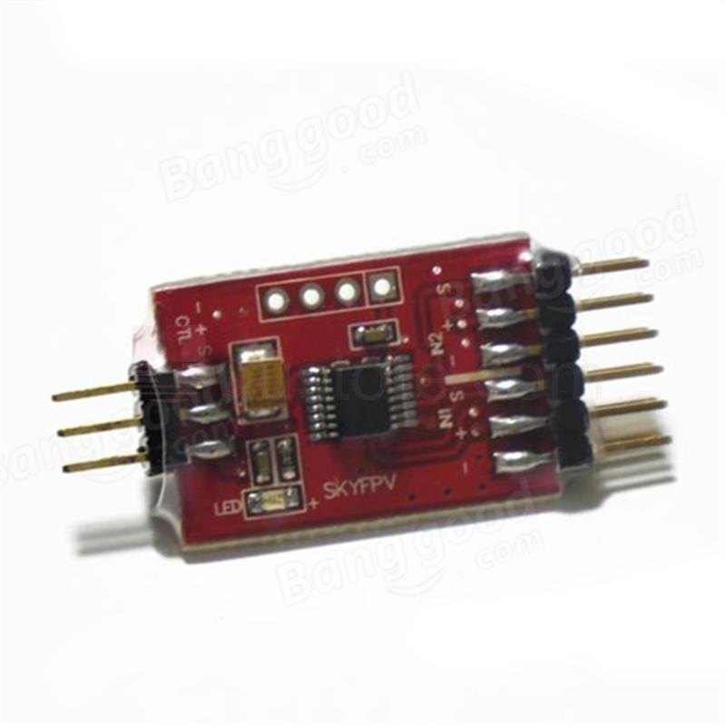 AOE FPV 3 way Video Switch Unit 3 Channel Video Switcher Module For FPV Camera