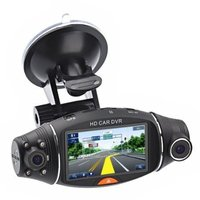 Dual Lens Dash Cam HD Car Camera Video Recorder Car DVR Camera G Sensor GPS Logger