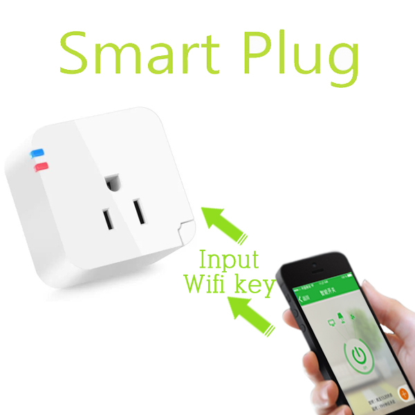 Wifi smart plug for Iphone Ipad Android Wireless control switch ...