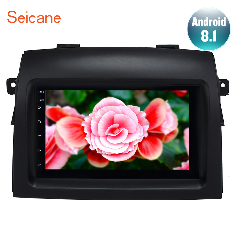 Seicane 7 Android 8.1 Car GPS Radio Player for 2004 2005 2006 2007-2010 Toyota Sienna Steering Wheel Control  Stereo MultimediaSeicane 7 Android 8.1 Car GPS Radio Player for 2004 2005 2006 2007-2010 Toyota Sienna Steering Wheel Control  Stereo Multimedia