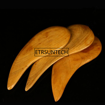 Wooden Half Stick Massager Finger Scraping Acupuncture Point Acupoint Massager Health Care Stick F1457