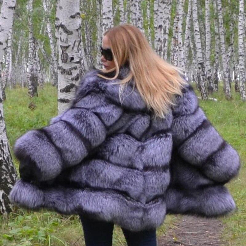 Manteau Qualité Veste down Collar Sliver Fc 2018 De 178 Fourrure Turn Réel Chaud Nouveau Haute Renard Avec 100 Ruban Fox Naturel B4aBYxg