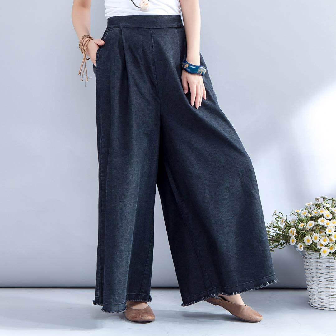 Gamba D802 fiammifero Blue 2018 Hot Jeans Pantaloni Nuovi Blu Dritto Larga Del Sciolto Donne Size Tutto Spring Large Nono Vendita dark PZwAqPRT
