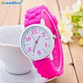 Paradise 2017 reloj  Women Silicone Motion Quartz Watches 100% brand new and high quality wholesale  Apr09
