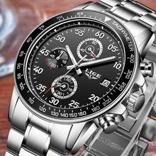 Full Steel Wristwatch masculino