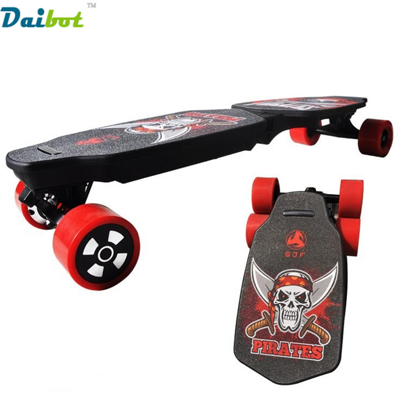 Folding Four Wheels Electric Scooter Skateboard Foldbale Hoverboard Longboard with Wireless Remote Control Bluetooth Speaker hoverboard four wheels electric skateboard long board double brake electric scooter light board foldable hoverboards skateboard