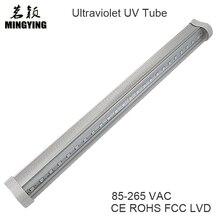 Светодиодный T5 Ультрафиолетовый в основном используется для отверждения клея и отверждения чернил 5 Вт УФ-гель отверждения света интегрированный кронштейн 85-265 в CE ROHS FCC