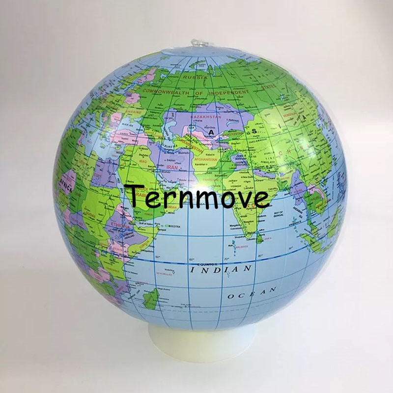 100% QualitäT Aufblasbarer Globus Welt Erde Ozean Karte Ball Geographie Lernen Pädagogisches Strand Ball Kinder Spielzeug Home Büro Dekoration Teaching Resources Schule & Educational Supplies