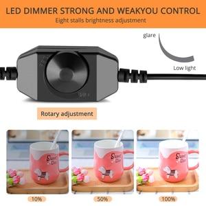 Image 5 - Travor caja de luz para estudio fotográfico regulable, 80x80cm, 31,5 pulgadas, adaptador de CA, fondos para cámara de teléfono, DSLR, joyería, juguetes de zapato
