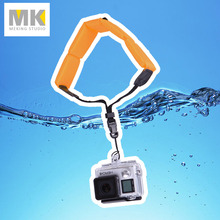 Gopro hand wrist strap Camera submersible Floating bobber for Hero 4 3+ 3 2 1 D20 D30 mini camcorder sj4000 accessory