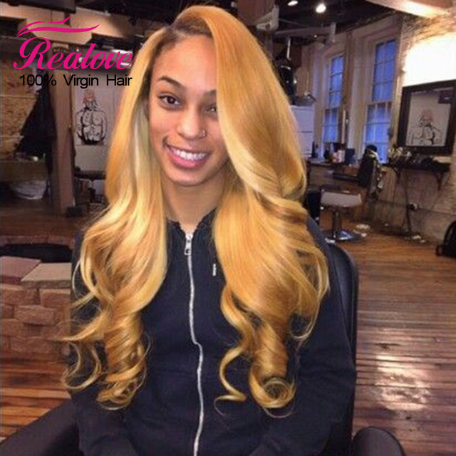 Honey Blonde Brazilian Hair 4 Bundles Brazilian Body Wave
